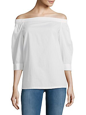 Joscla Cotton Off-The-Shoulder Top
