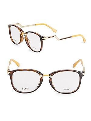 48MM Logo-Etched Optical Glasses