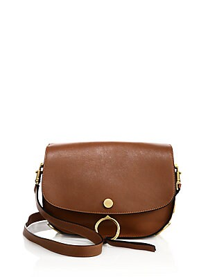 Kurtis Medium Genuine Calfskin Shoulder Bag
