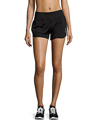 Marathon Solid Elasticized Shorts