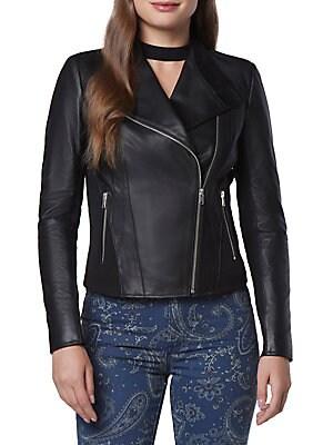 Felix Leather Moto Jacket