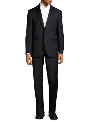 Classic Fit Virgin Wool Tuxedo Yves Saint Laurent
