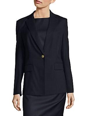 31 phillip lim female minimalistic notch jacket