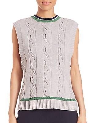 31 phillip lim female collegiate sleeveless knit tank