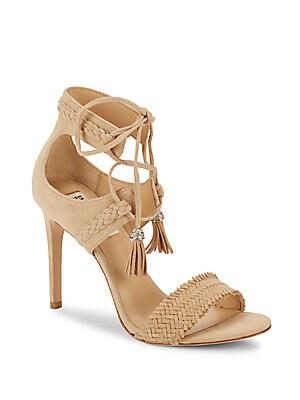 Bombay Sand Open-Toe Stiletto Sandals