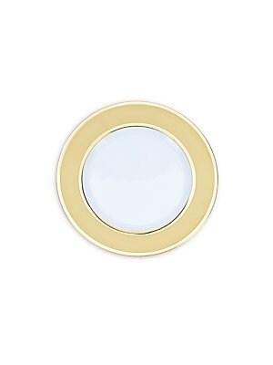 Axl Gold Dessert Plate