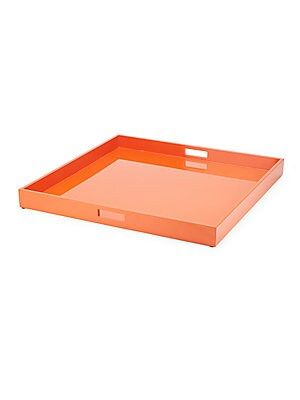 Lacquer Solid Square Tray