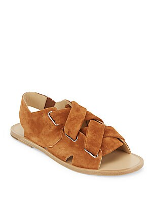 Nefer Open Toe Leather Sandals