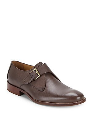 Williams Leather Monk Shoes