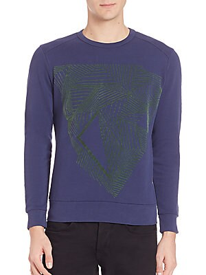Diamant Graphic Front Sweater