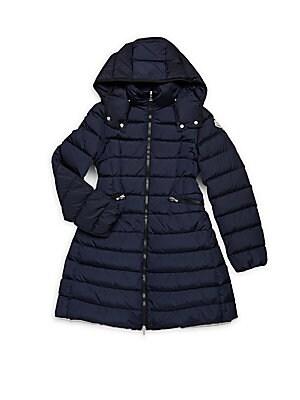 Girl's Hooded Puffer Jacket