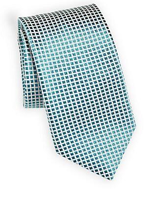 COLLECTION Mini Cut Square Silk Tie