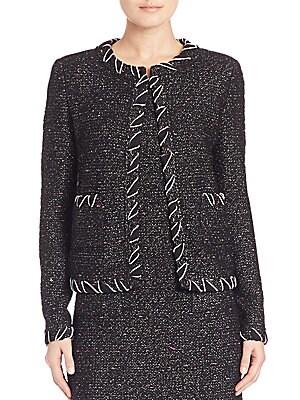 Flecked Tweed Jacket