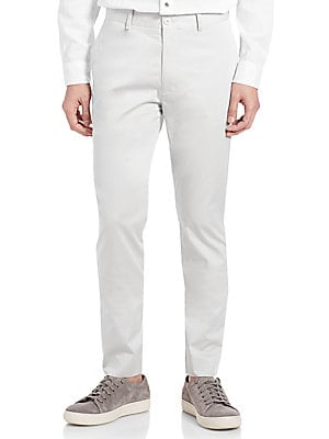 Cotton Sateen Chinos