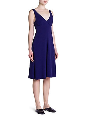 Cady Stretch Fit-And-Flare Dress