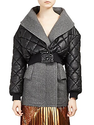 Alter Nappa Cropped Puffer Jacket