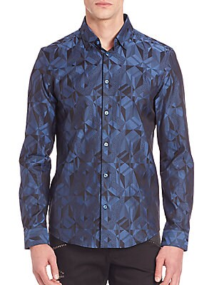 Cotton Patterned Shirt