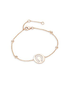 Click here for Diamond Horseshoe Bracelet in Rose Gold prices
