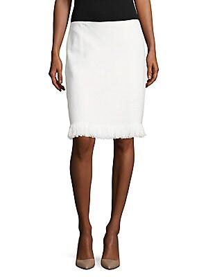 Fringed Midi Skirt