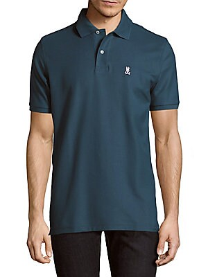 Cotton Printed Polo