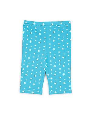 Little Girl's & Girl's Printed Shorts
