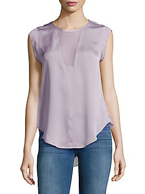 Charlie Solid Silk Top