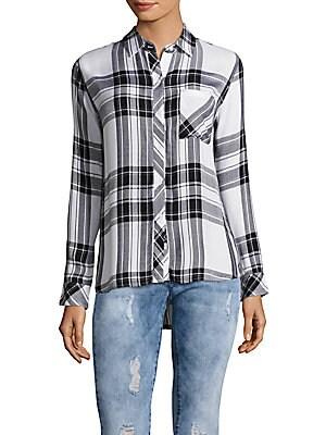 Hunter Windowpane Plaid Shirt