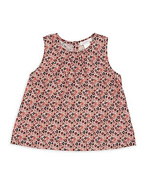 Little Girl's & Girl's Eloise Floral Tee