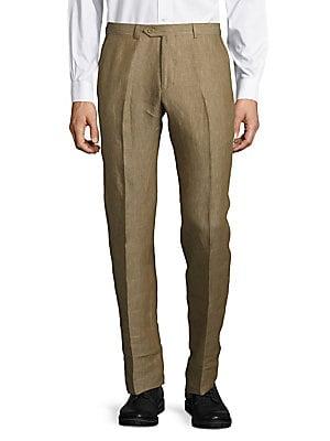 Solid Linen Pants