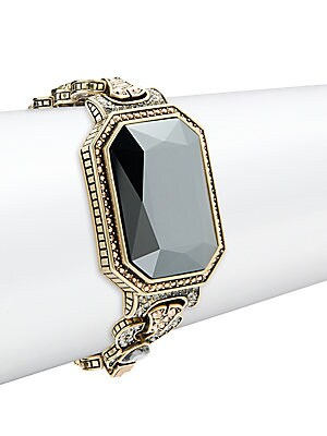 Solitare Crystal & Rhinestone Bracelet