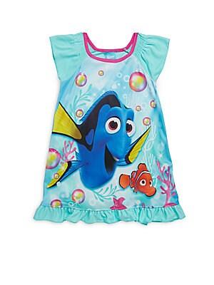 Little Girl's & Girl's Dory Ruffled Dress