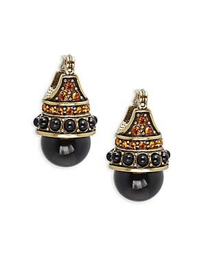 Clutch Crystal & Rhinestone Stud Earrings