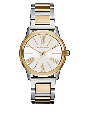Hartman Two-Tone Stainless Steel Bracelet Watch