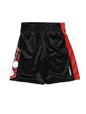Little Boy's Printed Athletic Shorts