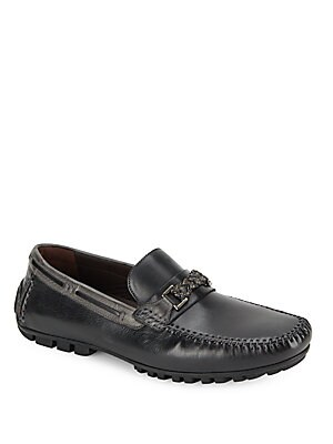 Zagreb Textured Leather Loafers