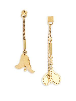 Keira Heart-Drop Earrings