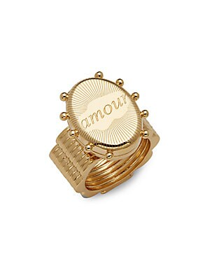 Brass Amour Ring