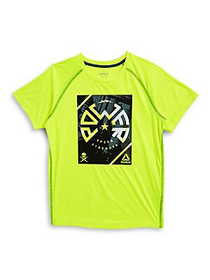 Boy's Power Graphic Performance T-Shirt