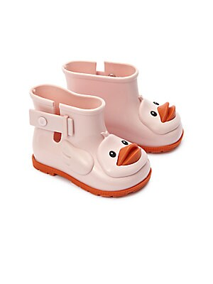 Baby Girl's Mini Sugar Duck Rain Boots