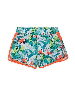 Girl's Printed Shorts