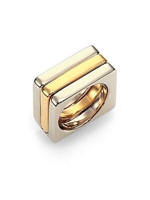 Greta Square Ring Set