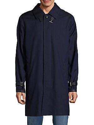 Italian Silk-Blend Coat