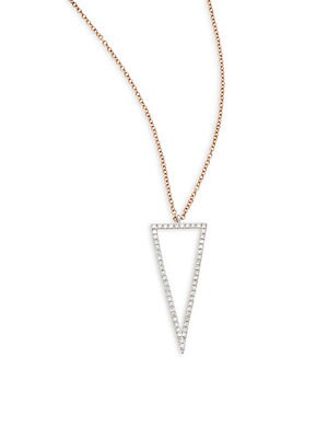 Click here for Diamond & 14K Rose Gold Pendant Necklace prices