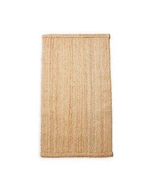 Plait Jute-Blend Bath Rug