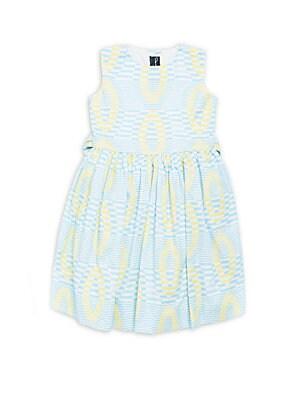 Little Girl's Printed Cotton Dress