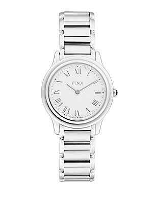 Classico Sapphire & Stainless Steel Link Bracelet Watch