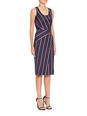 Carole Striped Dress