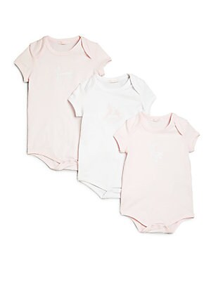 Baby's Three-Piece Logo Bodysuit Gift Set