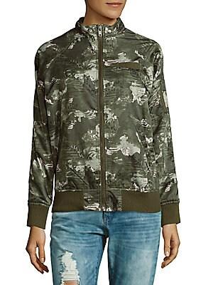 Raglan-Sleeve Jacket