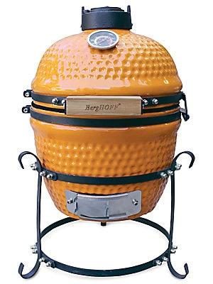 Studio Small Orange Ceramic Barbecue